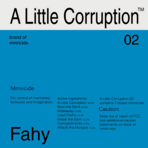A Little Corruption by Tom Fahy