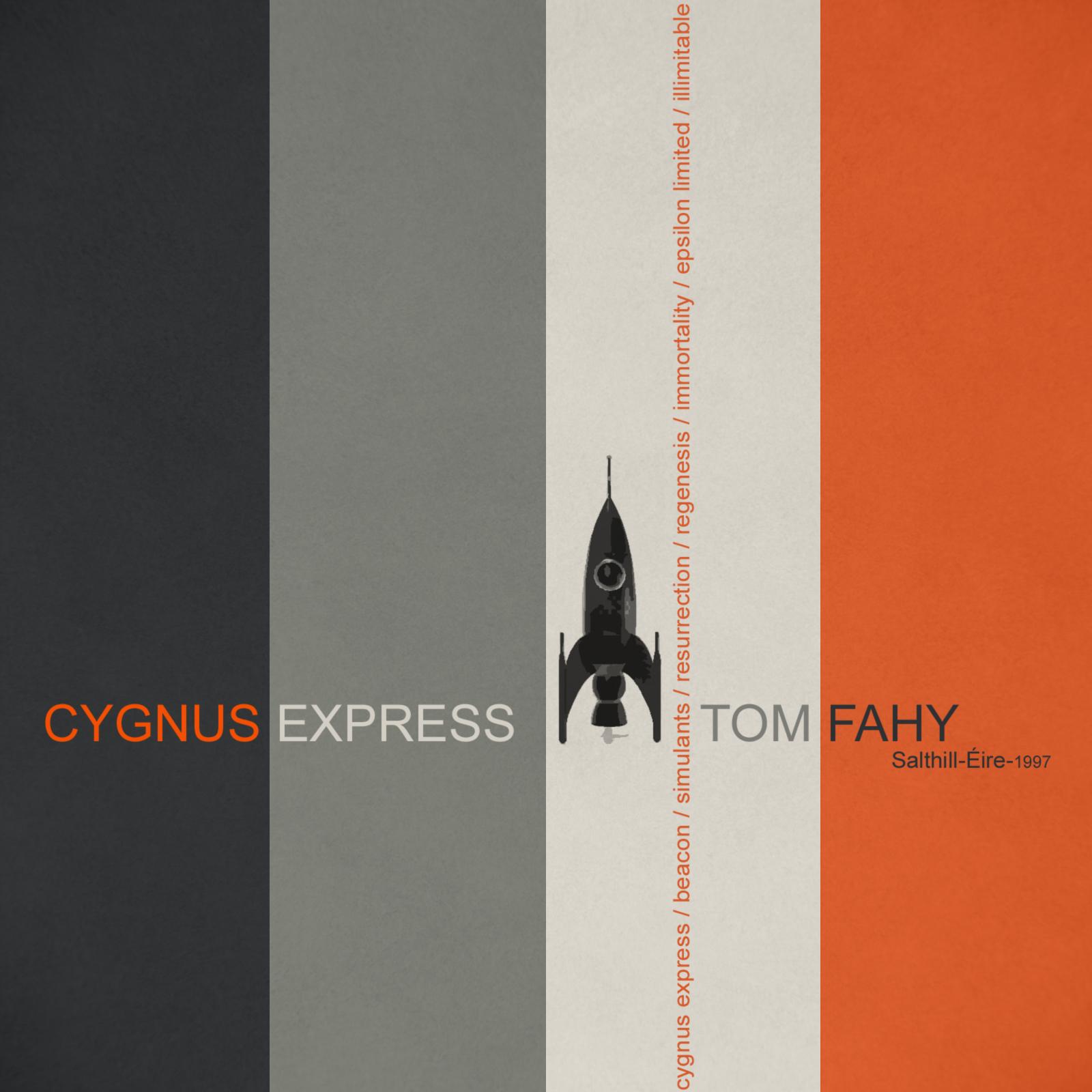 Cygnus Express by Tom Fahy