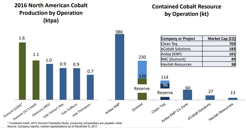 Dumont - World Class Cobalt Potential